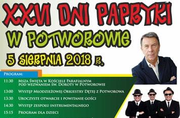 XXVI Dni Papryki w Potworowie