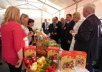 LGD Razem dla Radomki reprezentowało Mazowsze na Dożynkach Prezydenckich w Spale