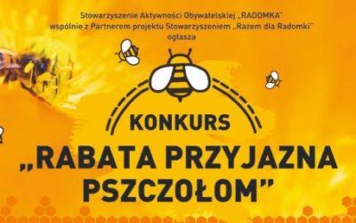 Rabata przyjazna pszczołom