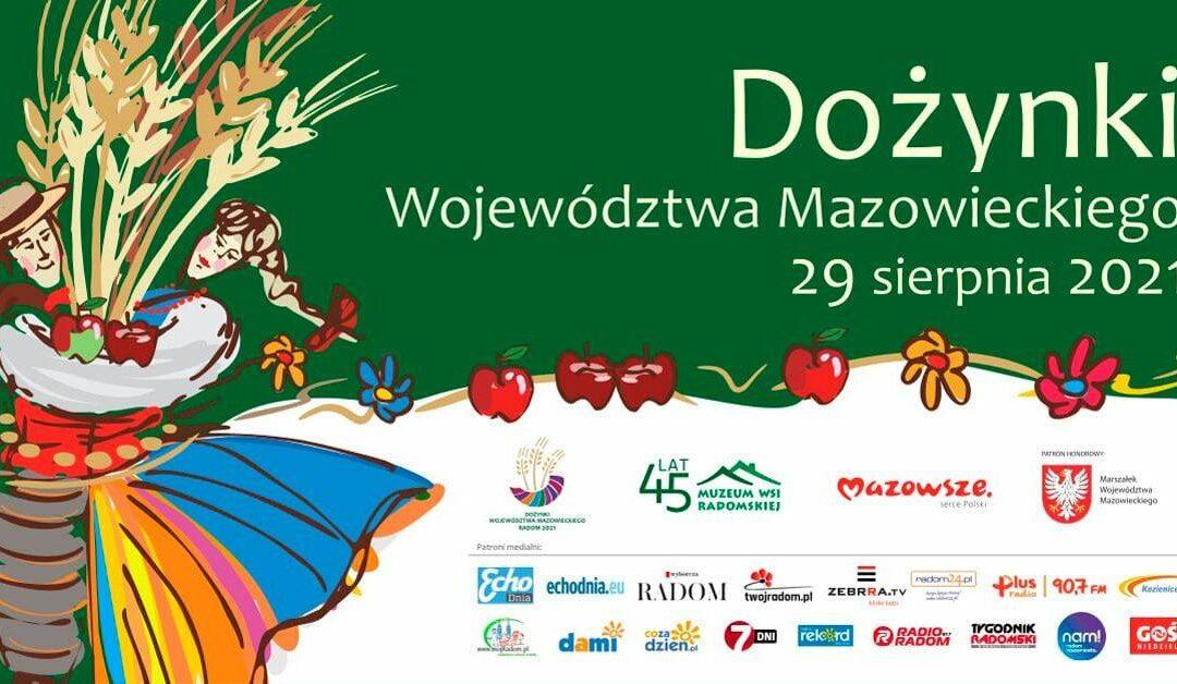 Dożynki Województwa Mazowieckiego w Radomiu!